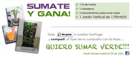 Campaña Quiero sumar Verde - María Pietranera