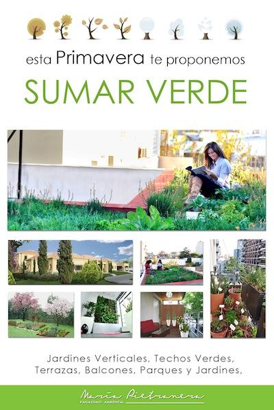 Flyer primavera: Sumar verde